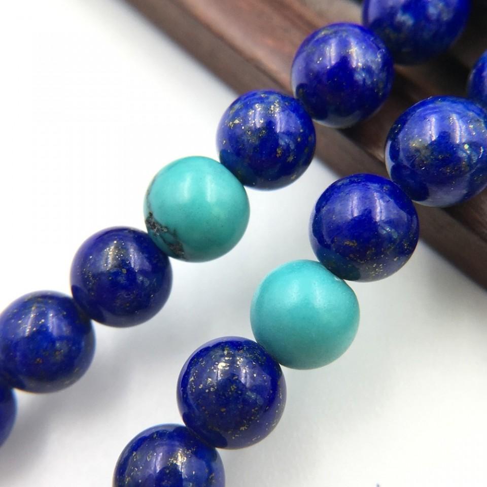 天然青金石设计款项链