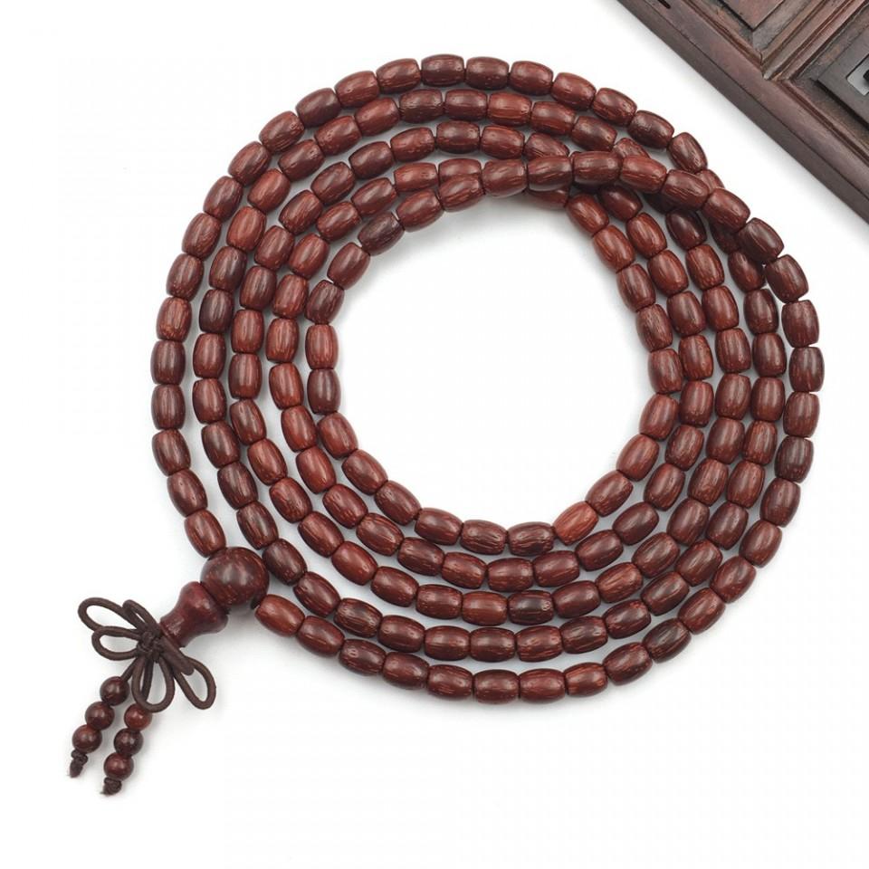 小叶紫檀米珠手串