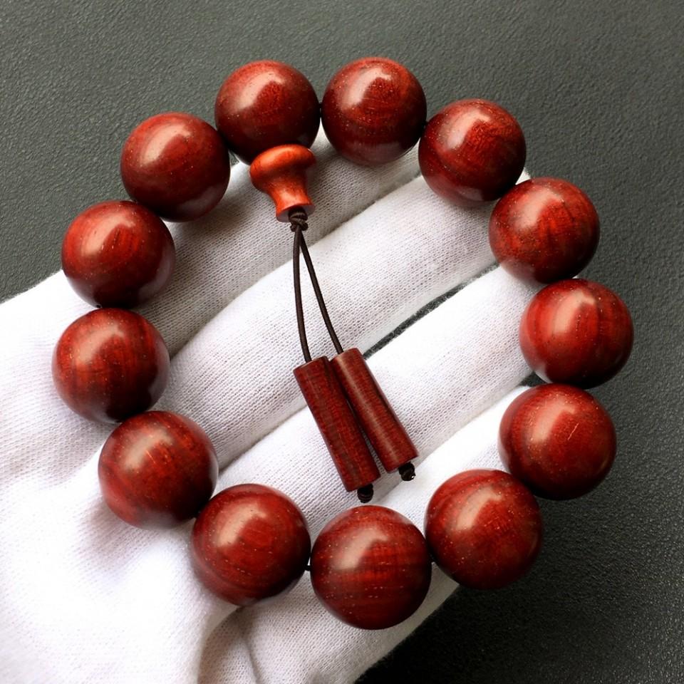 18mm小叶紫檀圆珠手串