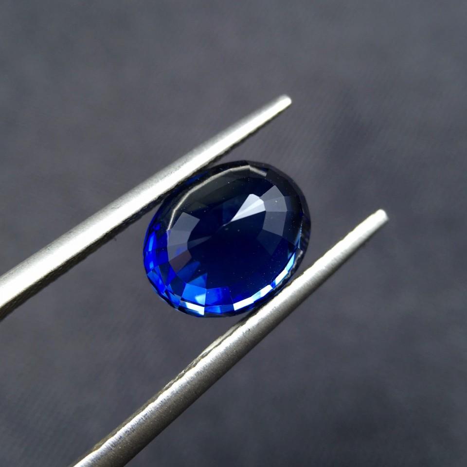 4.15ct天然无烧蓝宝石裸石