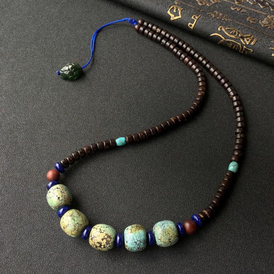 天然绿松石设计款项链