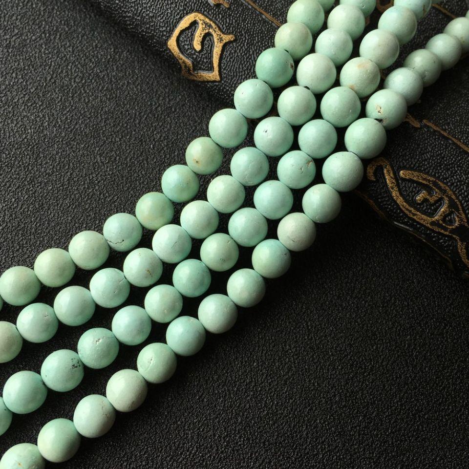 天然绿松石手链项链两用款